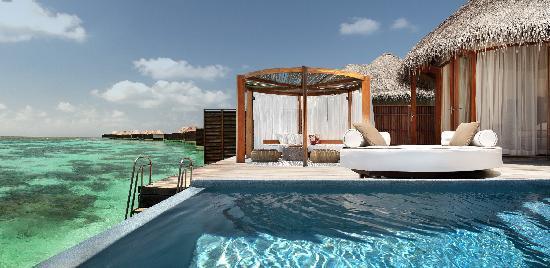 Los diez hoteles con las mejores piscinas del mundo seg n for Los mejores hoteles de maldivas