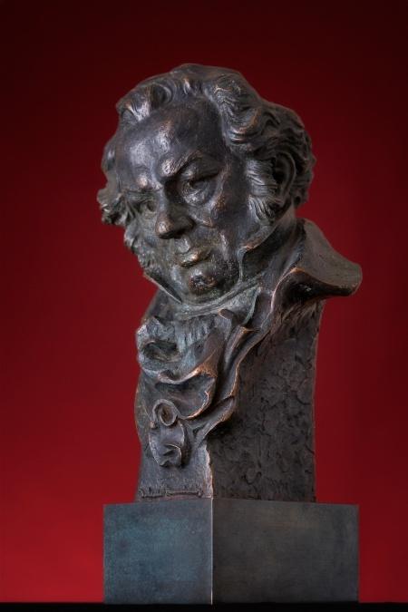 Este es el aspecto de un busto Goya