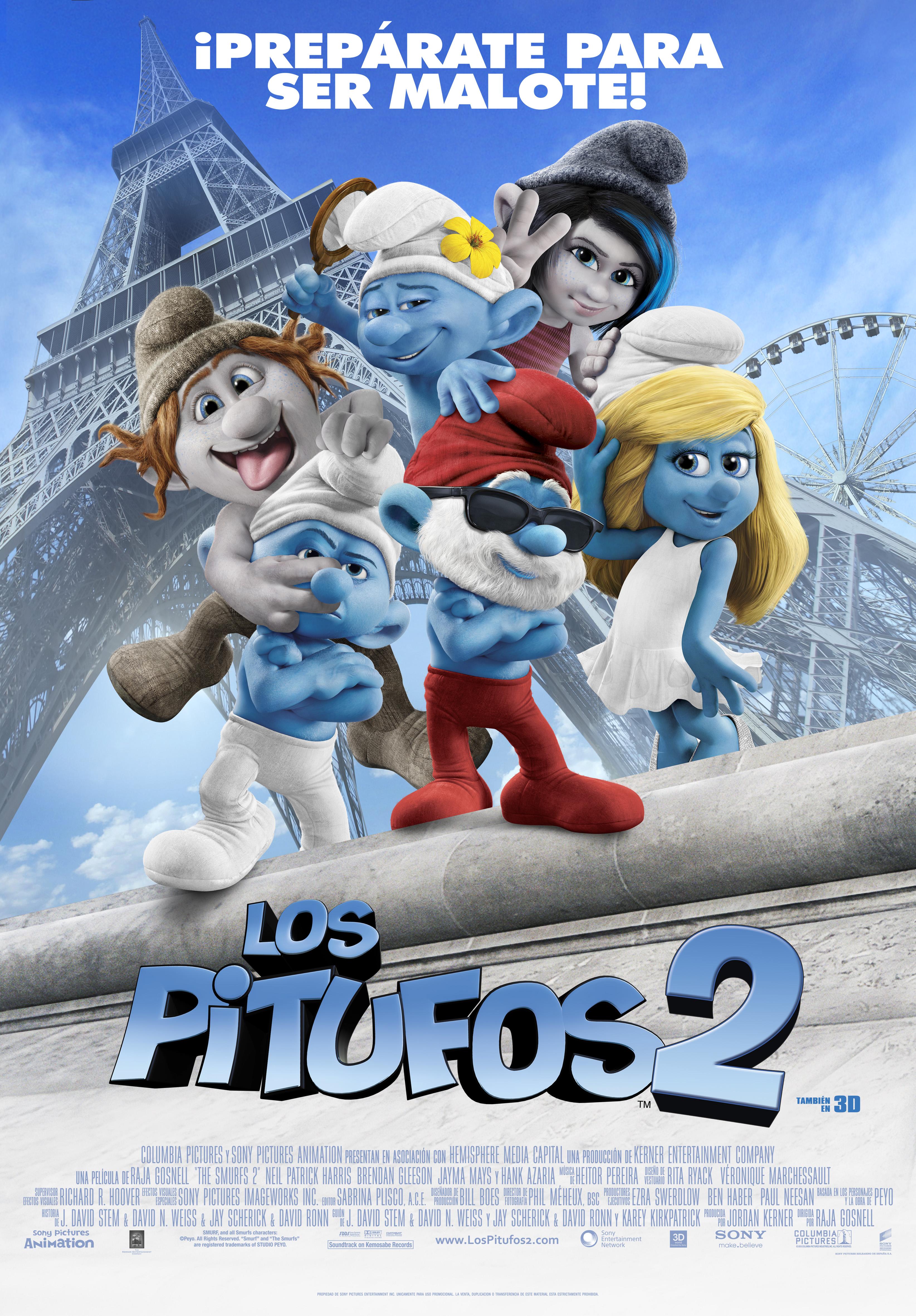 . Título:Los Pitufos 2 (The Smurfs 2) Director:Raja Gosnell Guión:Peyo (creador), J.David Stem, David N. Weiss, Jay Scherick, David Ronn, Karey Kirkpatrick Reparto:Hank Azaria, Neil Patrick Harris, Brendan Gleeson, Jayma […]