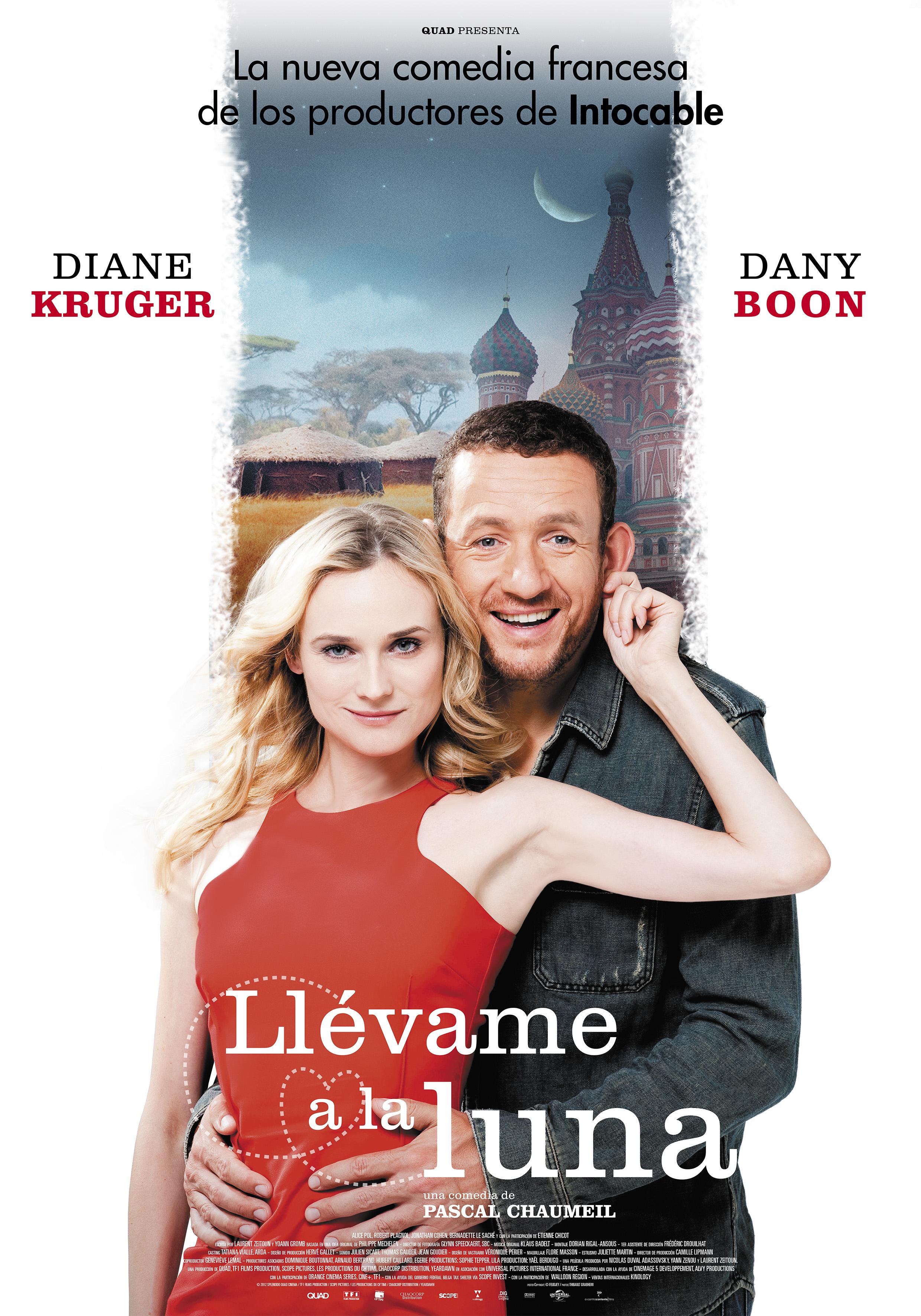 """. La nueva comedia romántica de los productores de """"Intocable"""" está protagonizada por Diane Krugery Dany Boon A contracorriente films estrenará Llévame a la Luna, la nueva comedia romántica de […]"""