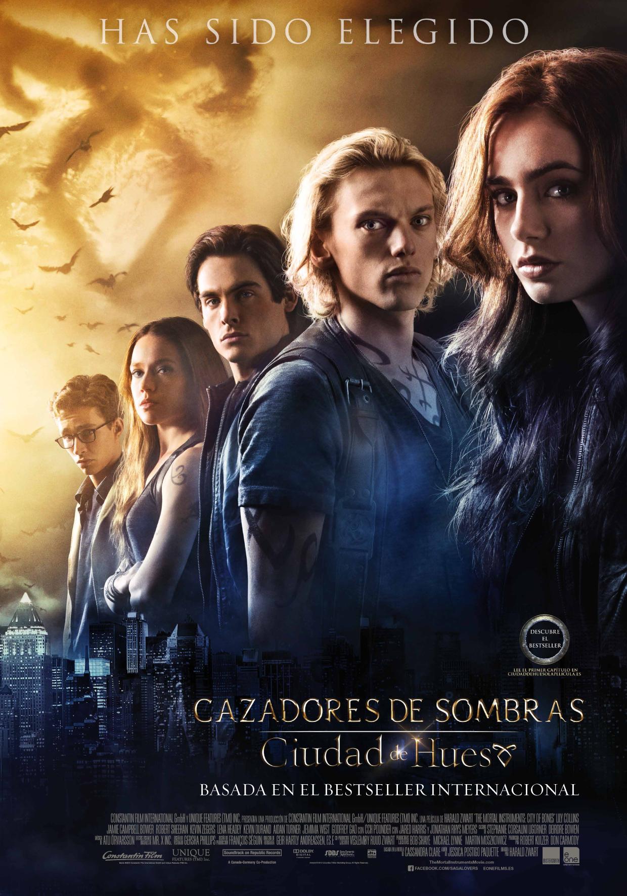 30 de Agosto estreno de «Cazadores de Sombras: Ciudad de