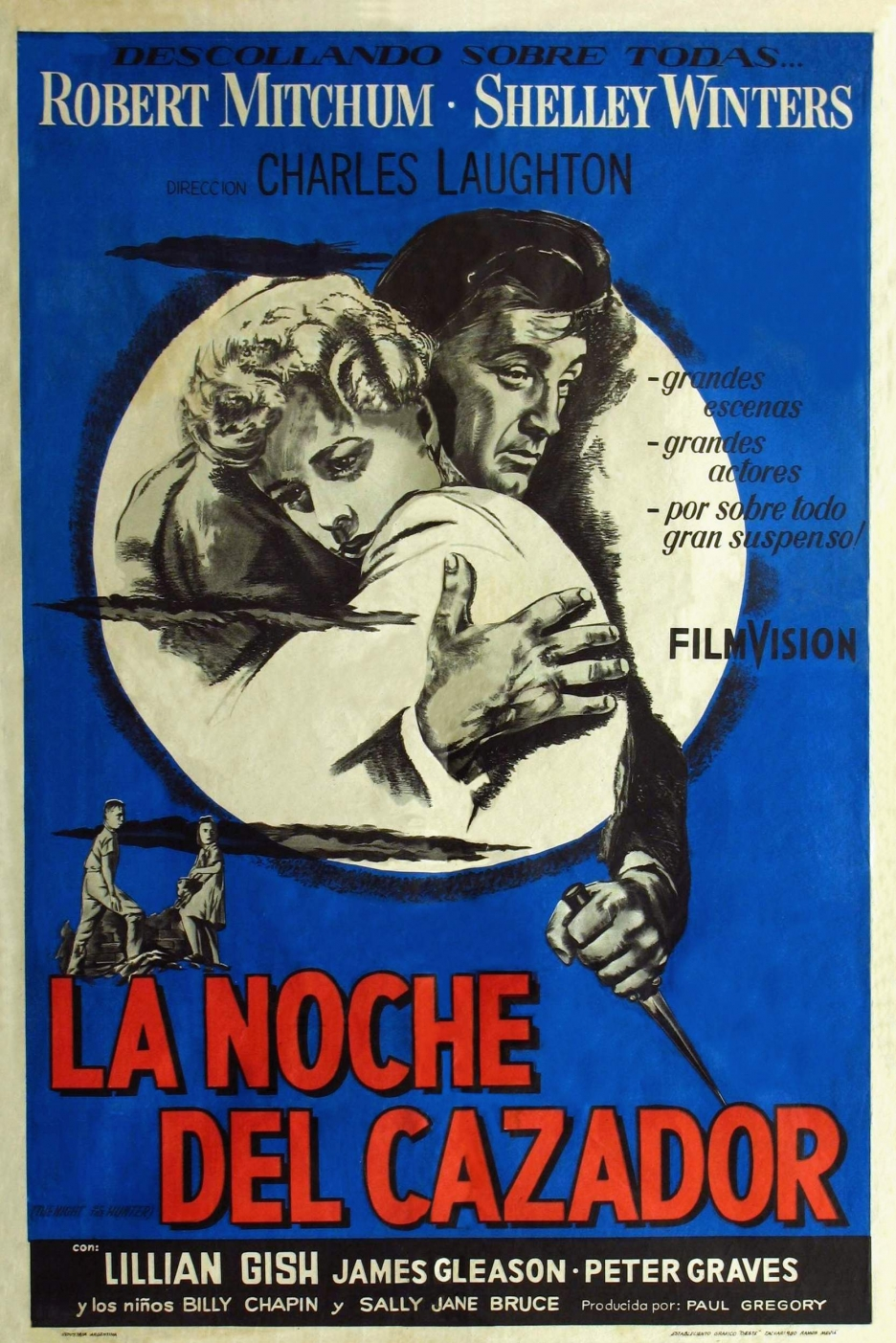 La Noche Del Cazador - The Night Of The Hunter - 1955