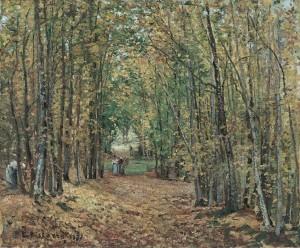 El bosque de Marly, 1871