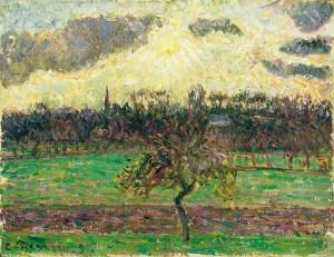 Prados de Éragny, el manzano; 1894
