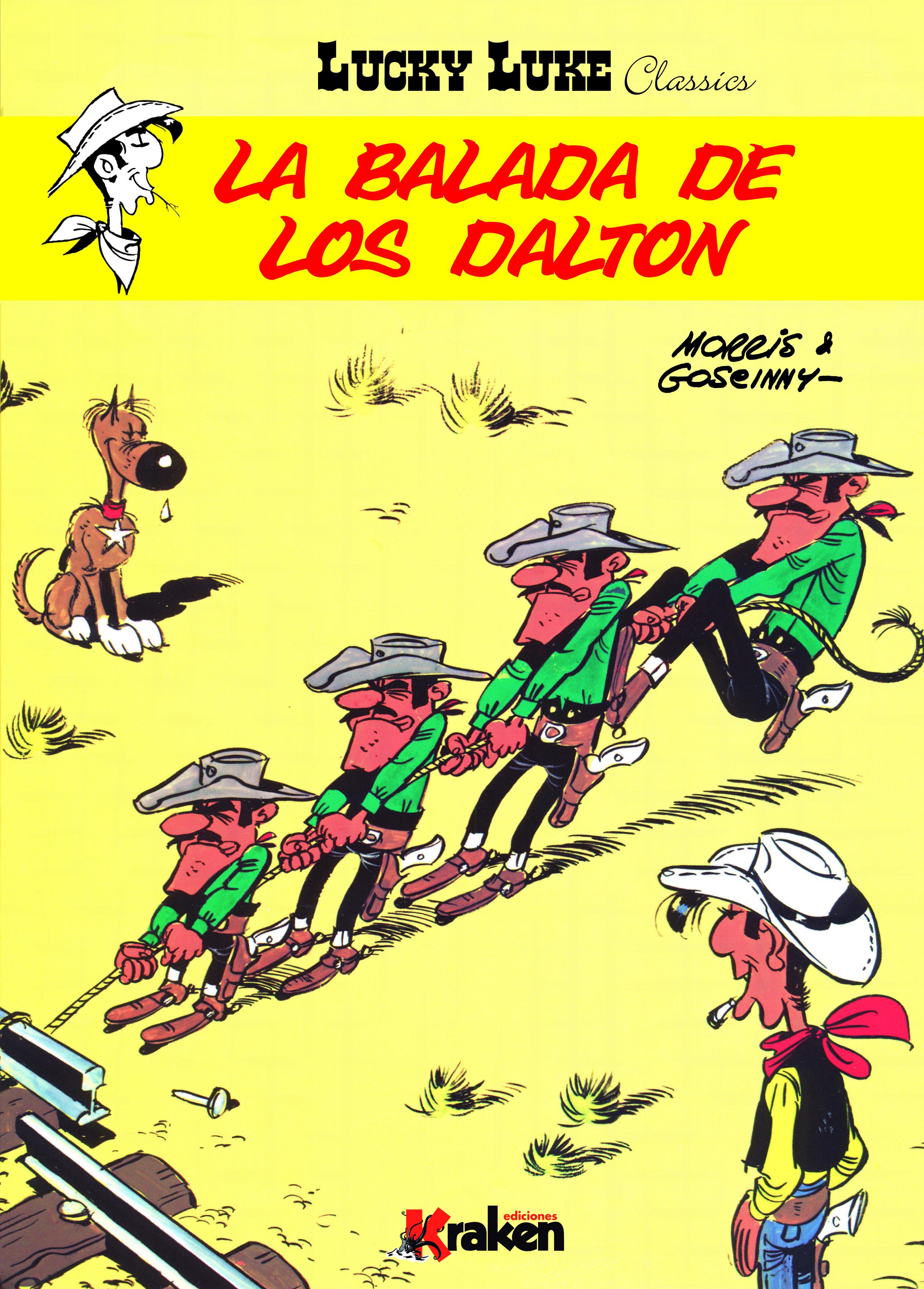 Título: Lucky Luke – La balada de los Dalton Autor: Morris & Goscinny Editorial: Kraken Páginas: 48 ISBN: 978-84-92534-73-9 Precio: 15 € Puedes comprarlo aquí  Sinopsis: Para vengar […]