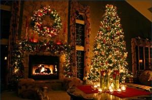 arbol-de-Navidad-Adornado