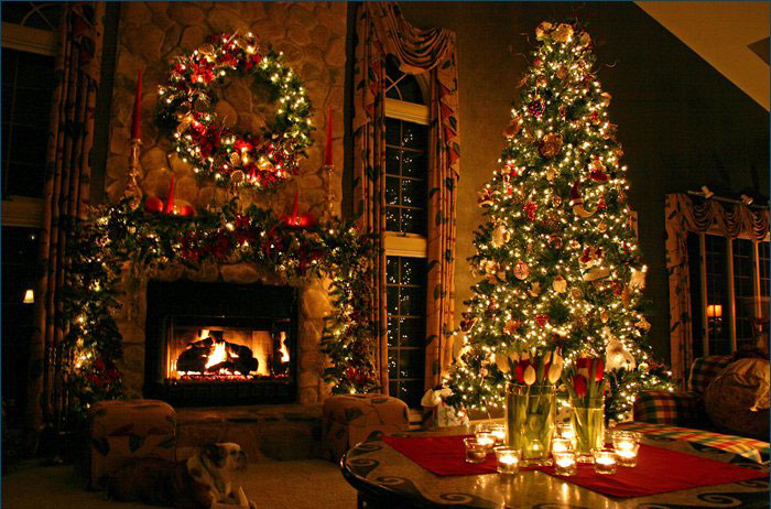 EL HILO DE LOS AMIGUETES XIV - Página 9 Arbol-de-Navidad-Adornado