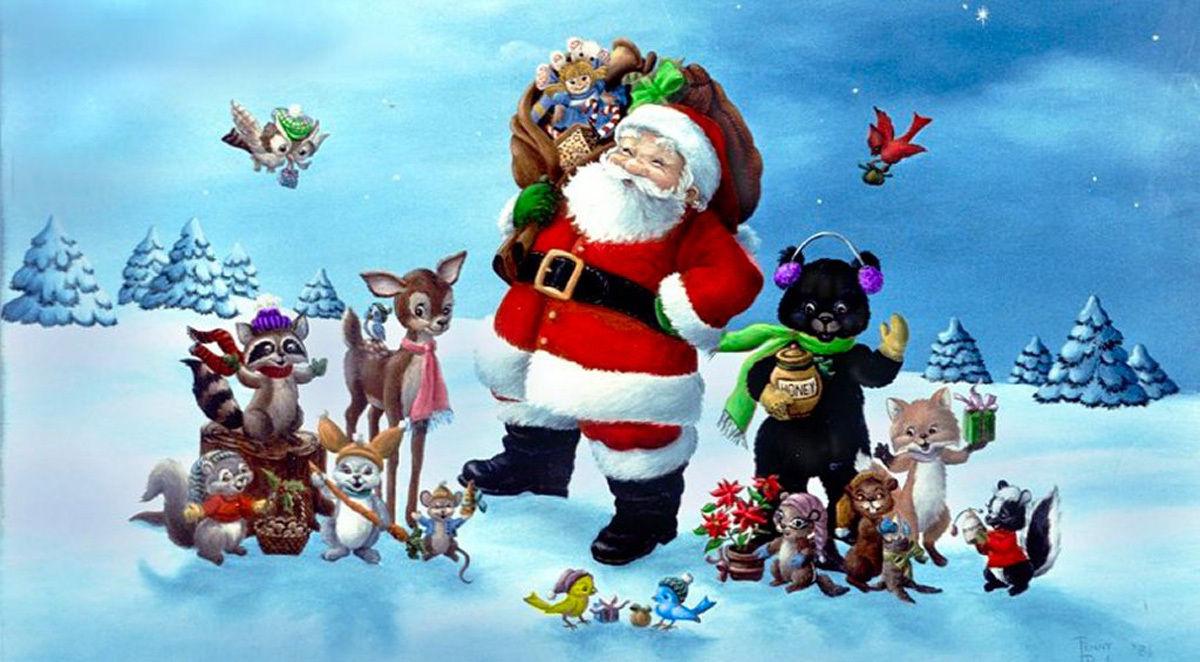 Imagenes De Papa Noel De Navidad.Costumbres Navidenas En Espana Papa Noel