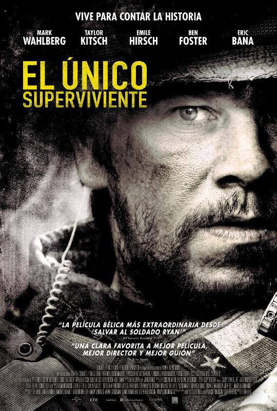 cartel EL ÚNICO SUPERVIVIENTE (540x800)