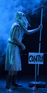 MANIFESTACION. Nou espectacle de ALBERT PLA. Fotografia FERRAN SENDRA