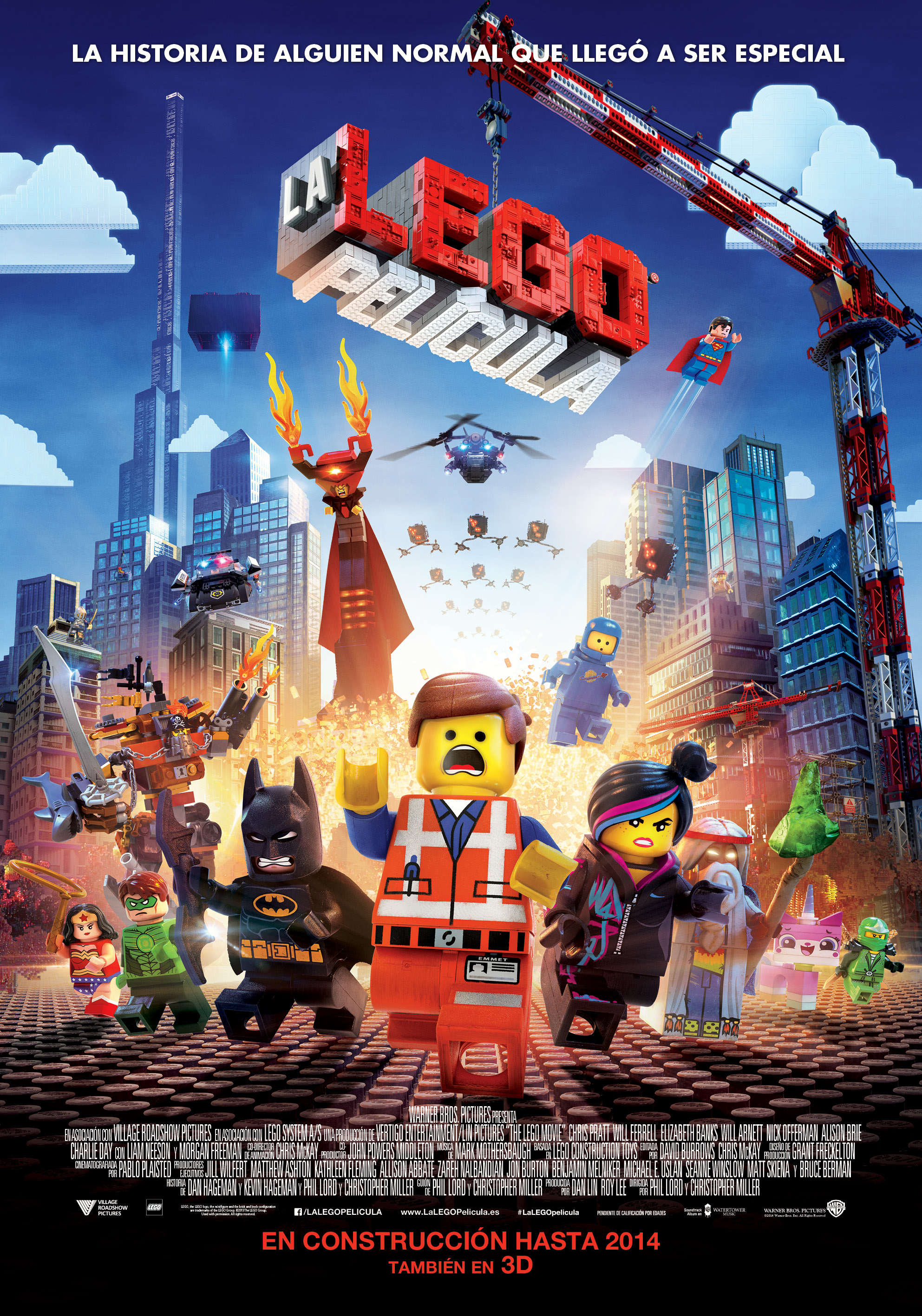 ES PUB ONE SHEET - LEGO