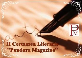 II Certamen Literario Pandora Magazine