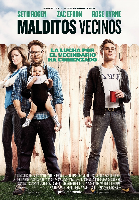 Visual Malditos Vecinos Spain Onesheet (555x800)