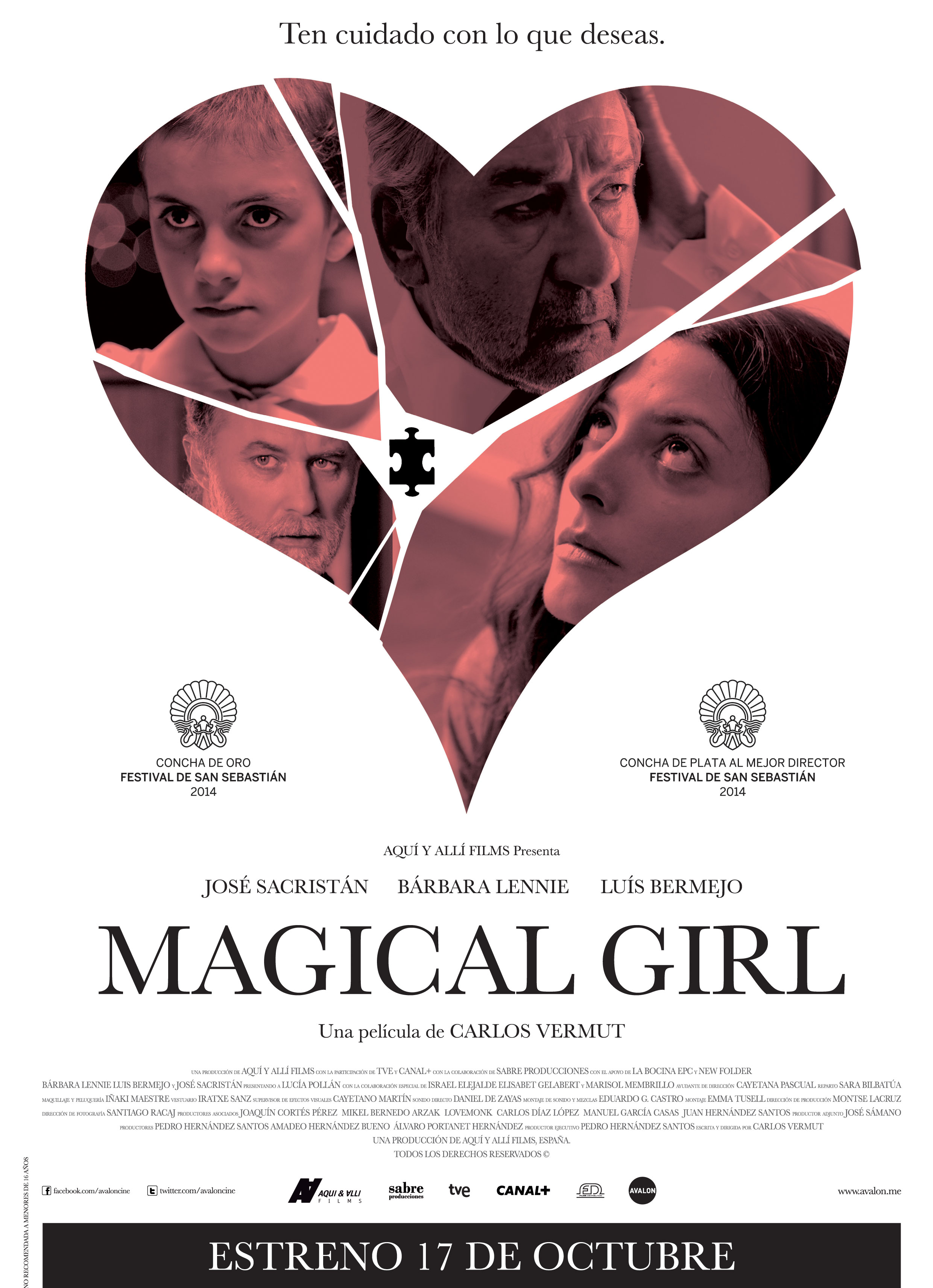 MAGICAL GIRL - poster