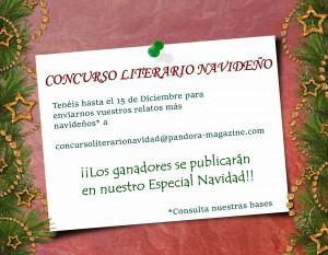concurso literario navidad