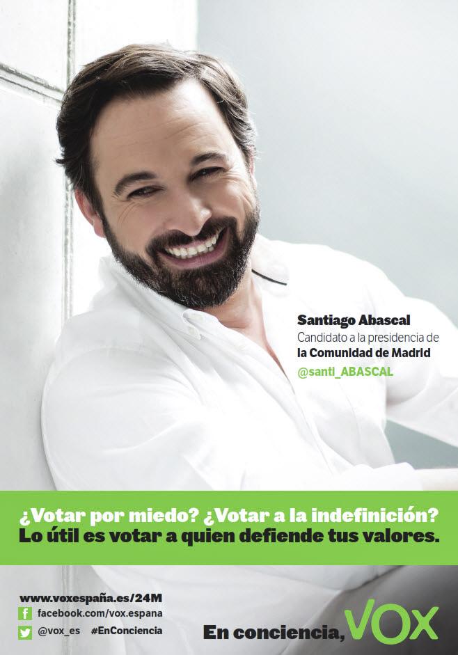 Entrevista a santiago abascal candidato de vox a la for Sede de la presidencia de la comunidad de madrid