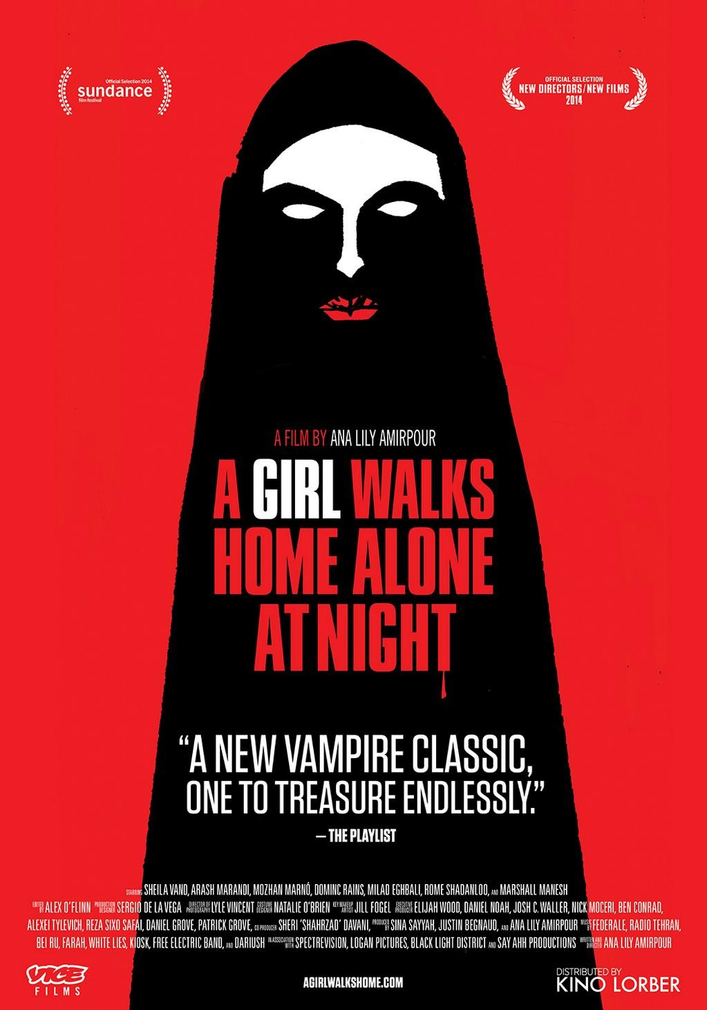 9_A girl walks home alone at night