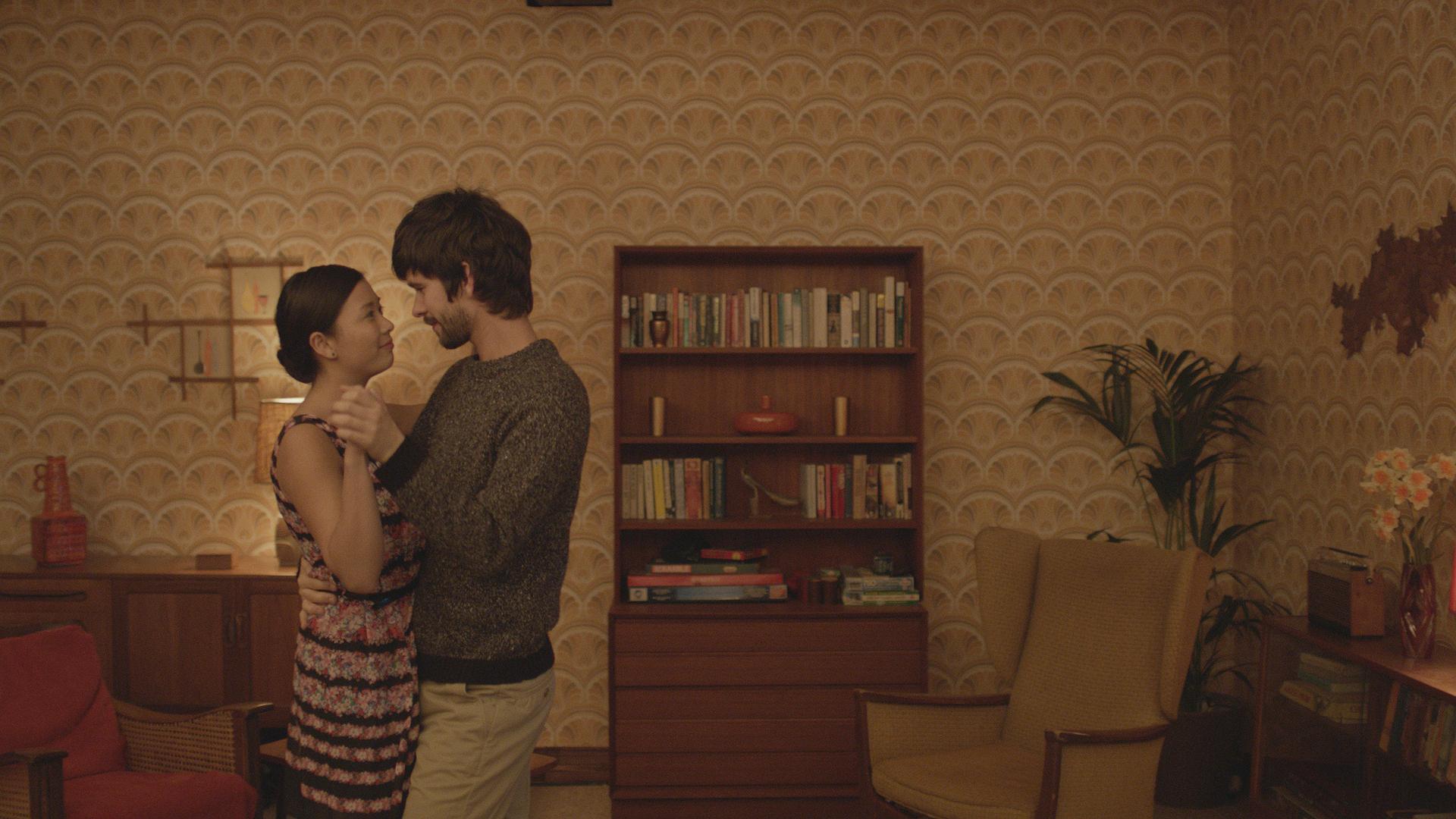 Ben Whishaw (Richard) and Naomi Christie (Vann) in Hong Khaou's LILTING