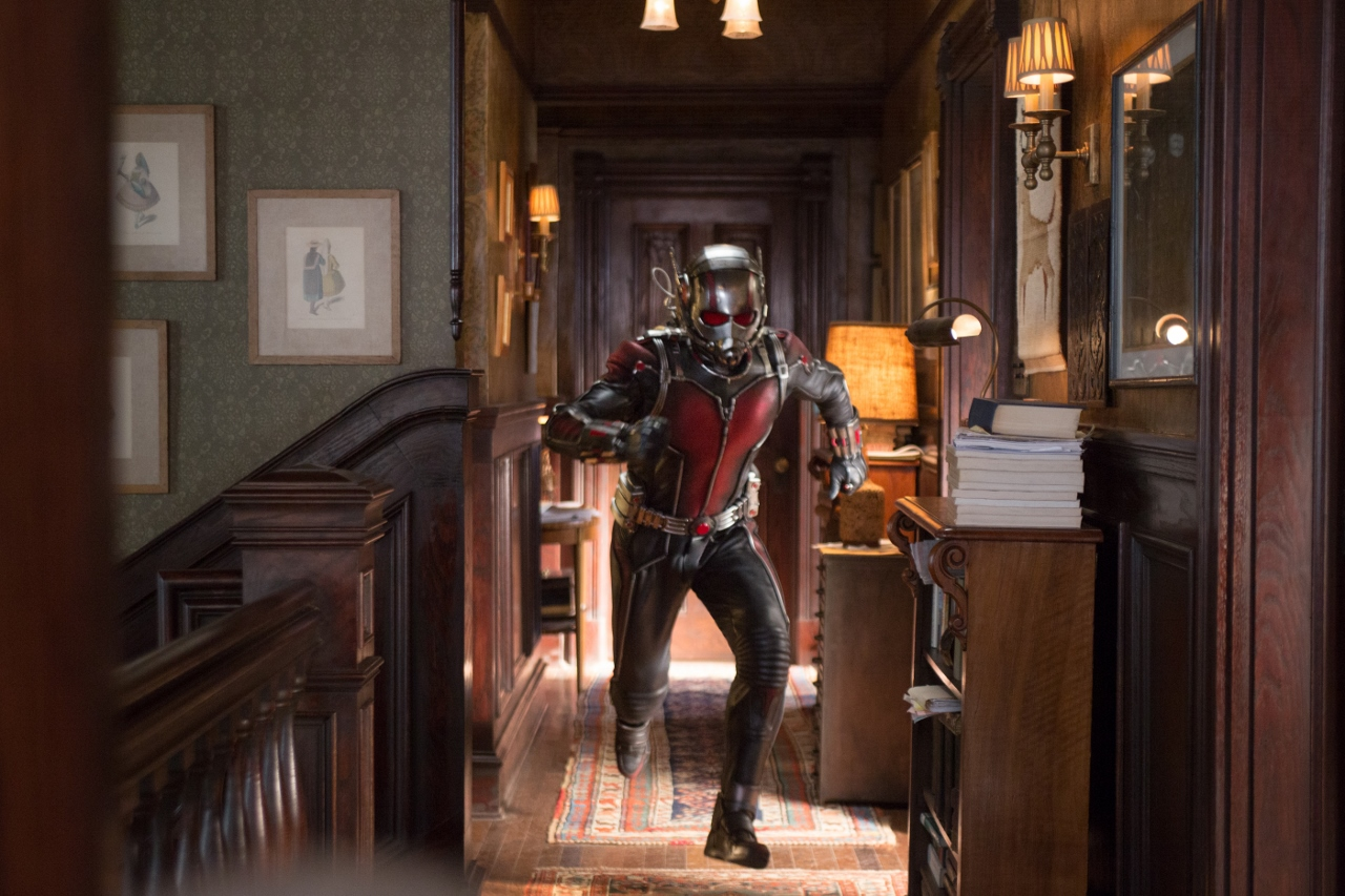 Marvel's Ant-Man Ant-Man/Scott Lang (Paul Rudd) Photo Credit: Zade Rosenthal © Marvel 2015