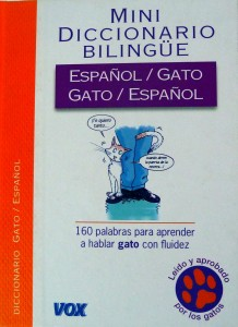 Diccionario Español/Gato