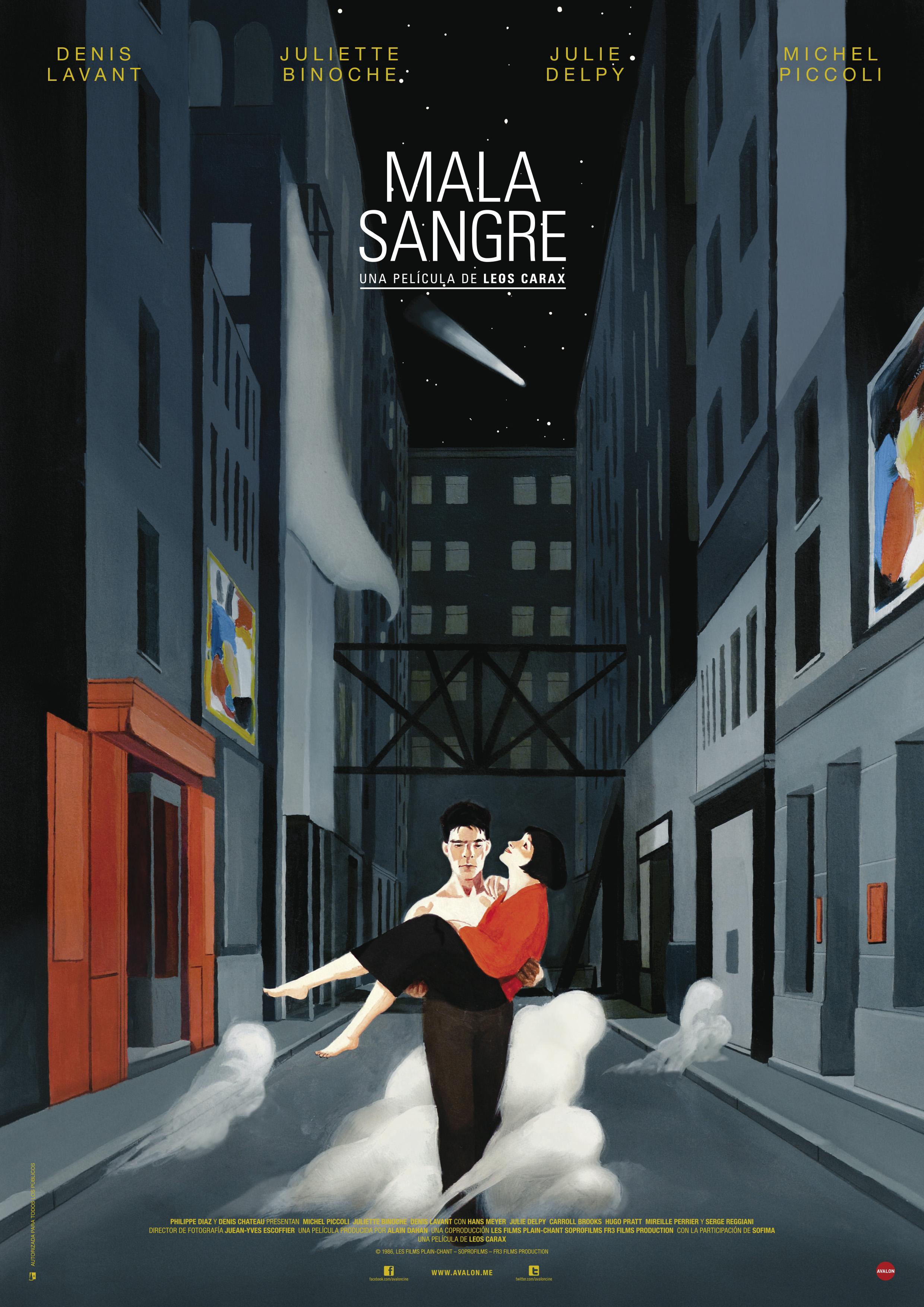 Poster MALA SANGRE A4