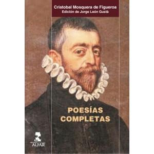 Poesías completas, de Cristóbal Mosquera de Figueroa
