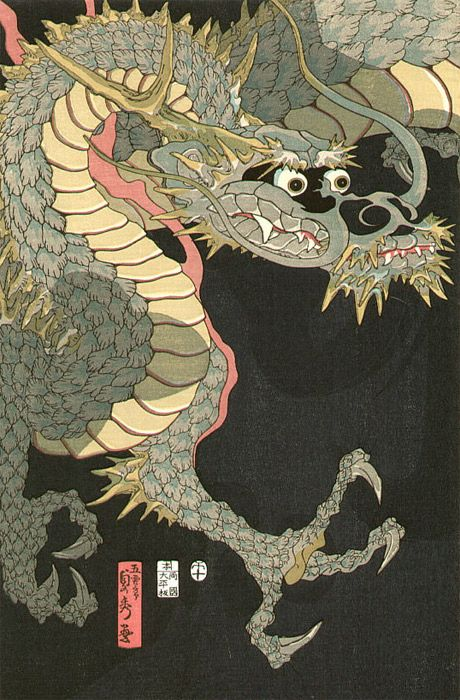 Dragón_Utagawa Sadahide