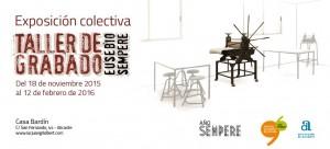 exposicion GRABADOS DEL TALLER EUSEBIO SEMPERE, Inauguración, 1