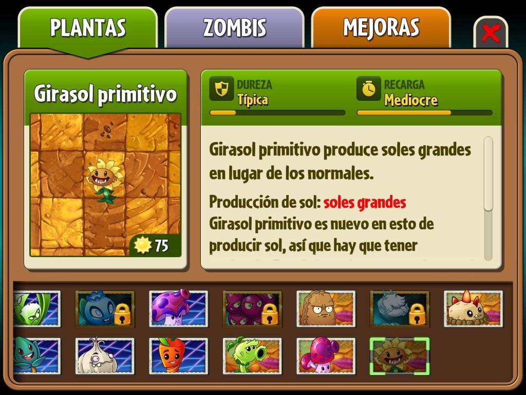 Plantas Pantano Jurásico Plants Zombies