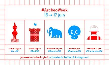 Del 17 al 19 de junio, Francia acogerá la séptima edición de lasJournées nationales de l'archéologie (JNA2016), un encuentro cultural y científico organizado por el Ministerio de Cultura y Comunicación […]