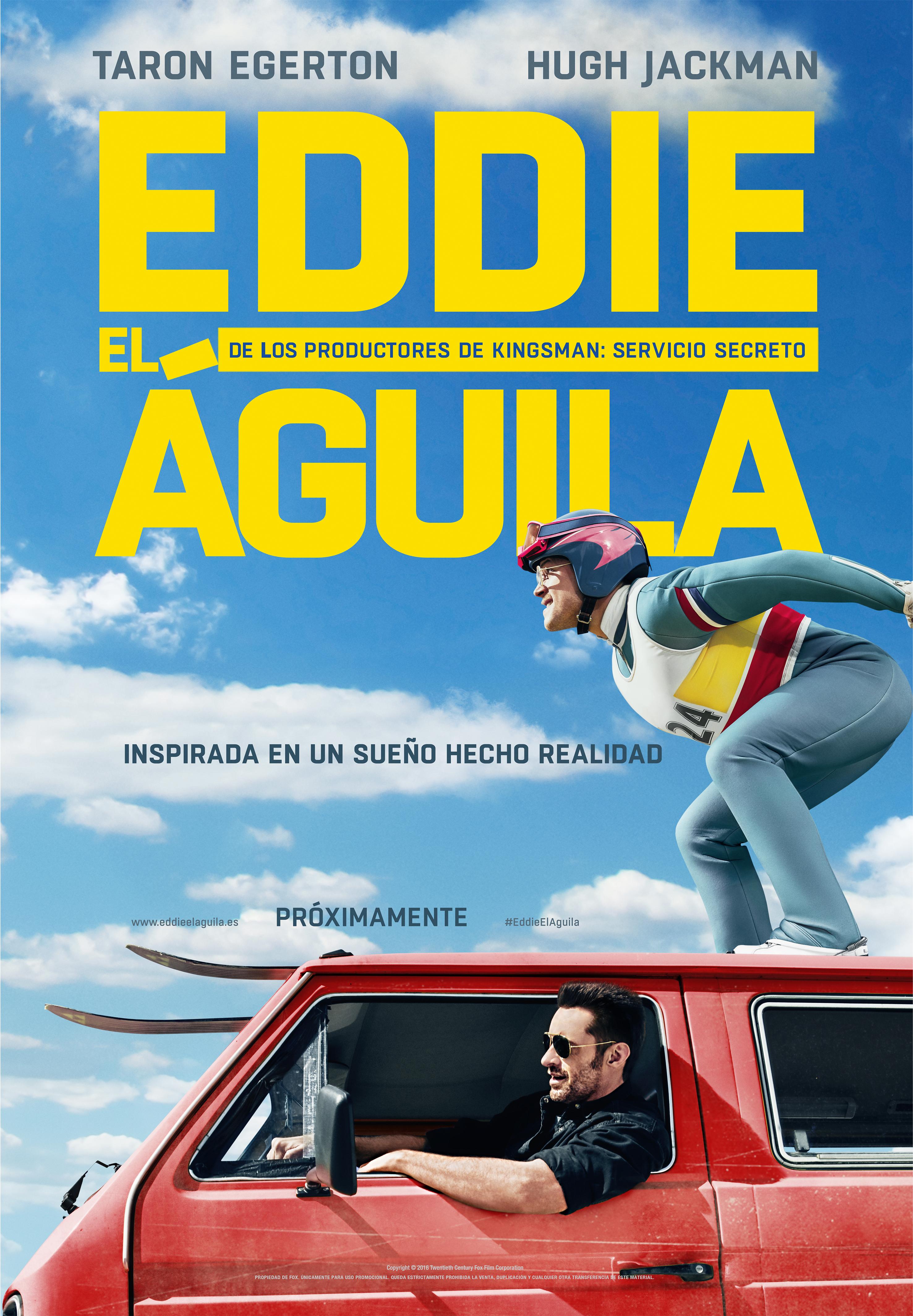 Eddie El Águila_Poster