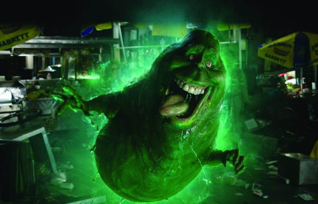 Slimer in Columbia Pictures' GHOSTBUSTERS.