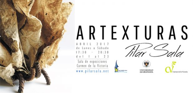 """El próximo sábado 1 de abril a las 19:30h, la sala de exposiciones del Carmen de la Victoria de Granada acogerá la inauguración de """"ARTEXTURAS"""", la nueva exposición de Pilar […]"""