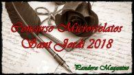 Con motivo de la celebración del 23 de abril, Día del Libro y Sant Jordi, la revista Pandora Magazine convoca un concurso de microrrelatos en el que se […]